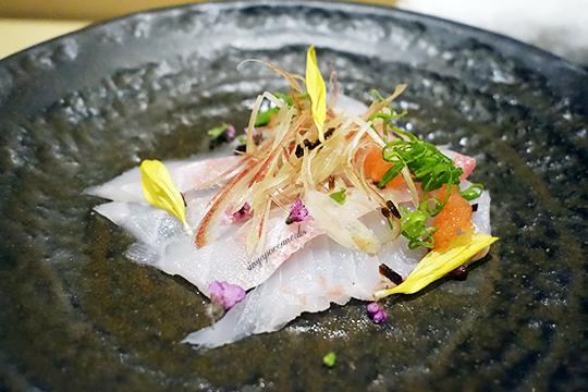 Yuzu 08 sashimi