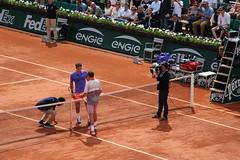 Roland Garros 2015 - Roger Federer & Stan Wawrinka