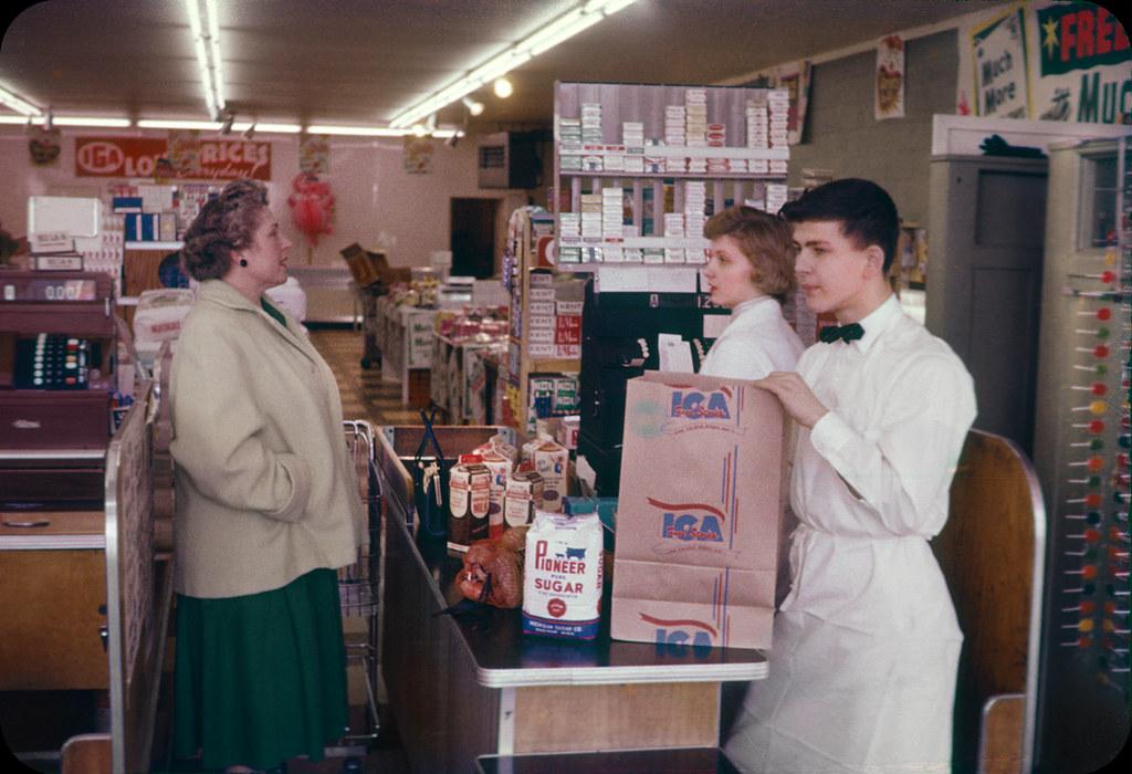 IGA — Elkton, MI, 1958