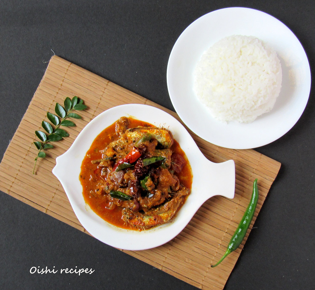 Oishi Recipes Mathi Chala Sardine Fish Curry