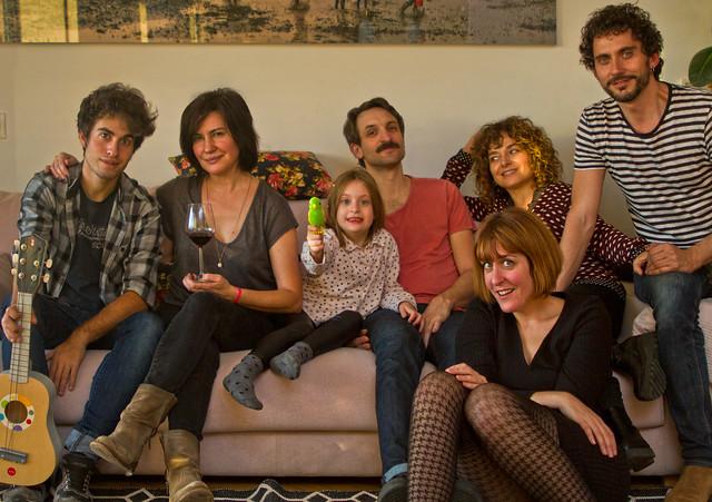 Eloe, Maite, Manuela, Julian, Aixa, Anna y Paco (2015)
