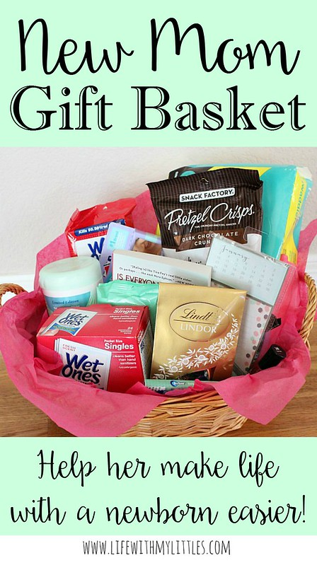 New Baby Gift Basket For Mom : New mom gift basket life with my littles