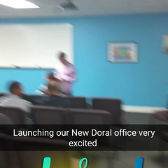 Opening our new Doral office! #Hustle #networkmarketing #livethedream #BeYourOwnBoss #Daddypreneur #GilbertFonticoba #Freedom #ResidualIncome #Entrepreneur #secondincome #SecondIncomeCoach #dedication #letsgetit #FreedomFighter