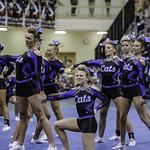 LHS-Varsity Cheer-Battle of the Bluff-10/16/16