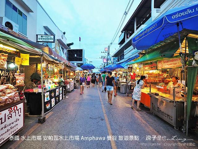 泰國 水上市場 安帕瓦水上市場 Amphawa 曼谷 旅遊景點 48