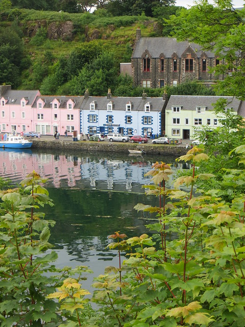 Portree, île de Skye, Ross and Cromarty, Highland, Ecosse, Royaume-Uni