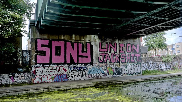 Regents Canal, Mare St