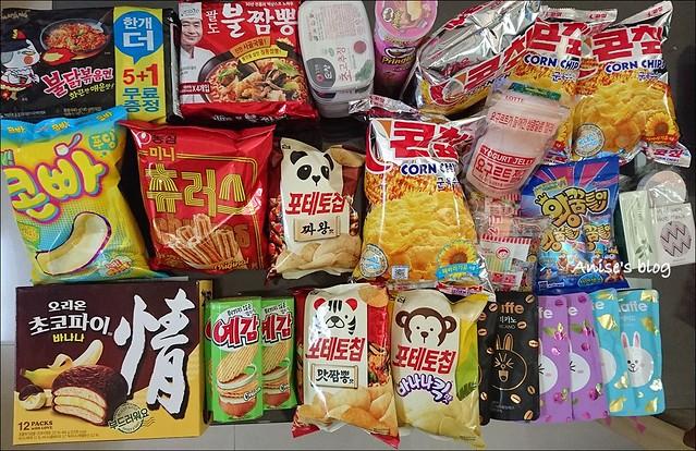 韓國零食001