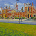 Work in progress Wellington College Arts Festival 2016 40 x 60 inches oil by Martin Beek