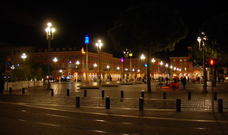 Image of Place Masséna near Nice. nice southoffrance cotedazure frenchriviera nikond802016dsc1166