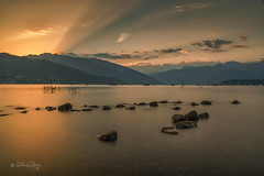 Sonnenaufgang am Thunersee / Sunrise at Lake Thun
