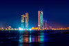 Nation Towers by Night by pixario