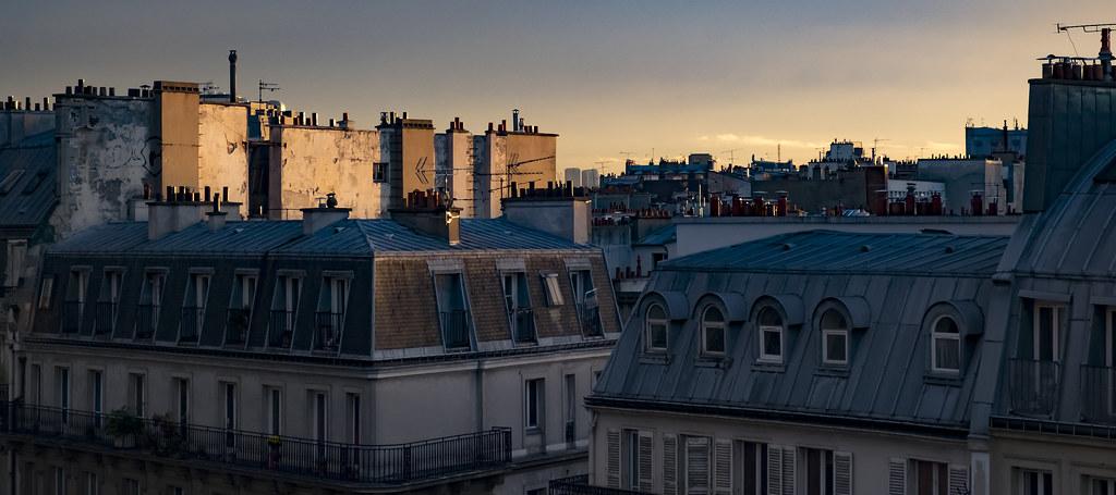 Study : Paris Bonsergent Sunset 03