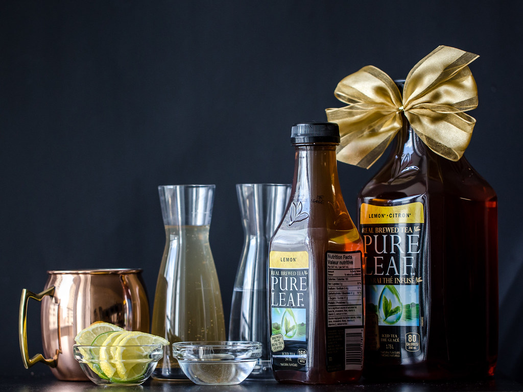 Making Holiday Parties Easier with Pure Leaf Tea