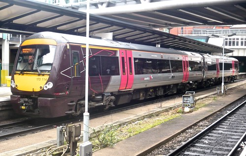 Class 170 114 'Arriva Cross Country' Diesel Multiple Unit /2 on 'Dennis Basford's railsroadsrunways.blogspot.co.uk'