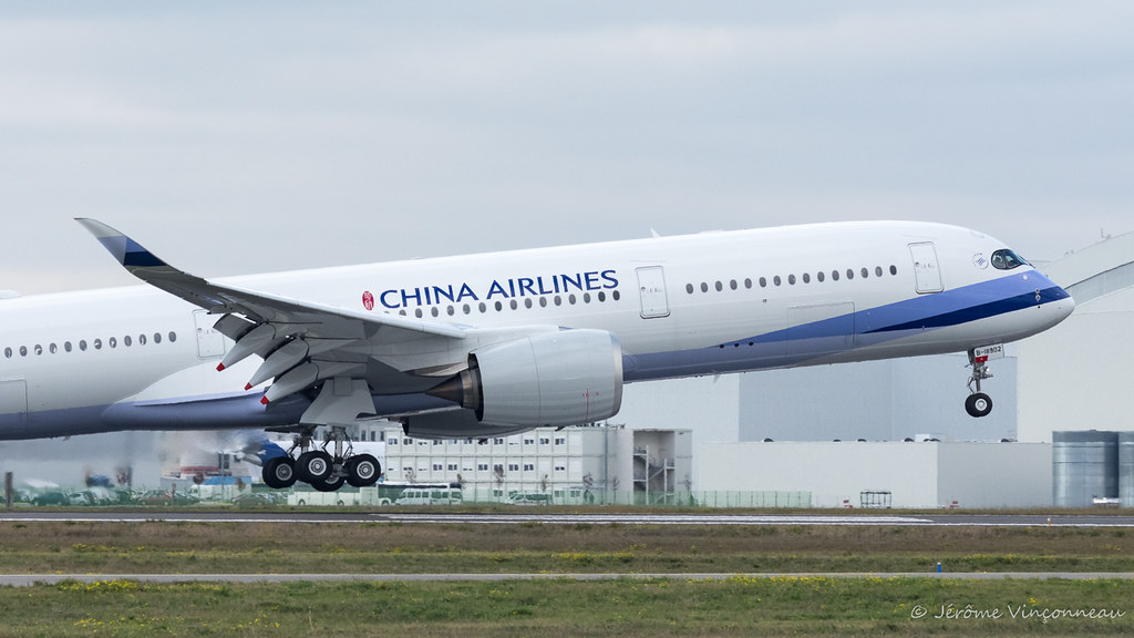 B-18902 - A359 - China Airlines