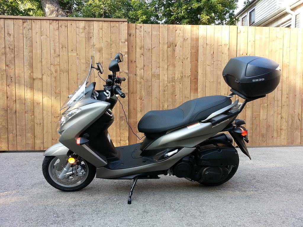 Pics Of My New Yamaha Smax Xc155 Page 2 Adventure Rider Vespa Gt200 Fuse Box Location Img