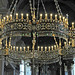 Prague -- Interior of St. Nicholas church ... Bohemian crystal chandelier by R. Van Wallendael