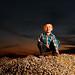 Logan and His Rock Pile