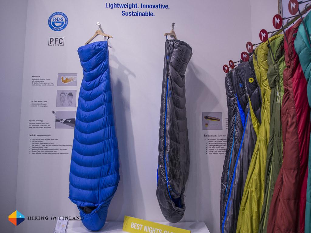 Marmot Helium & Ion Sleeping Bags