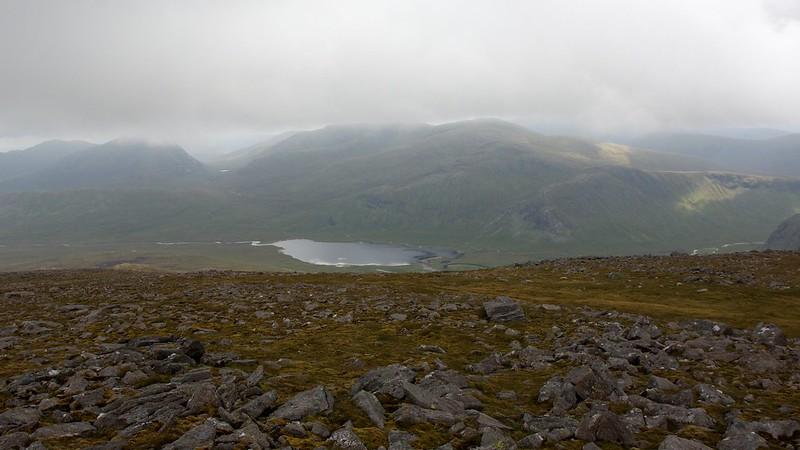 Loch Ghuilbinn from Chno Dearg
