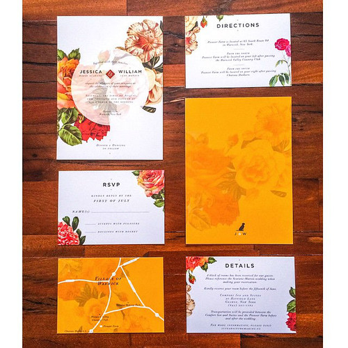 Wedding Invitations by Monica O Design