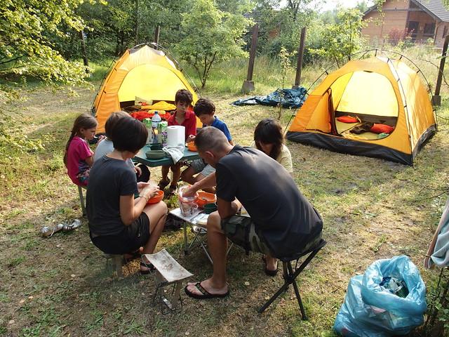 Camping near Weba