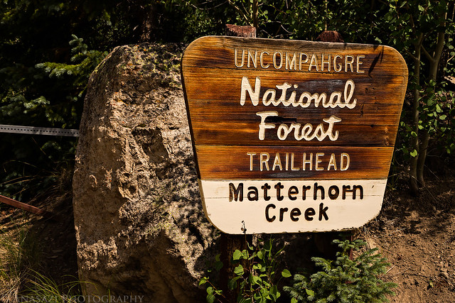 Matterhorn Creek Trailhead