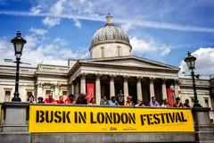 Busk In London