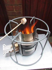 Our New EzyStove - Trying it at home