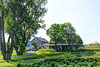 Farmhouse With A Wrap-Around Porch