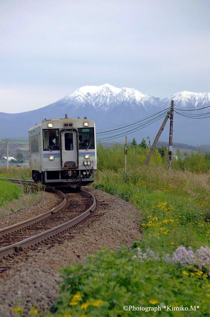 JR富良野線 オプタテシケ山