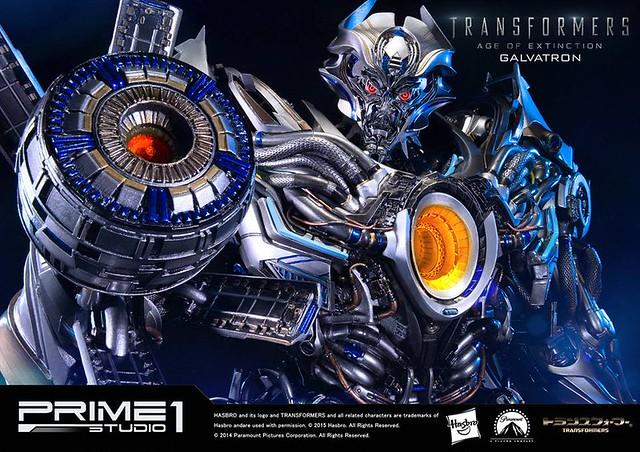 Prime 1 Studio 變形金剛4:絕跡重生【格威龍】GALVATRON 全身雕像