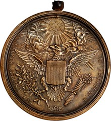 United States Diplomatic Medal reverse