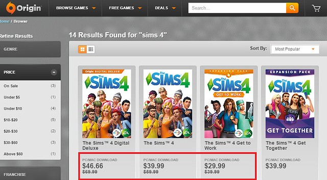 Origin save up to 33 on the sims 4 and get to work expansion