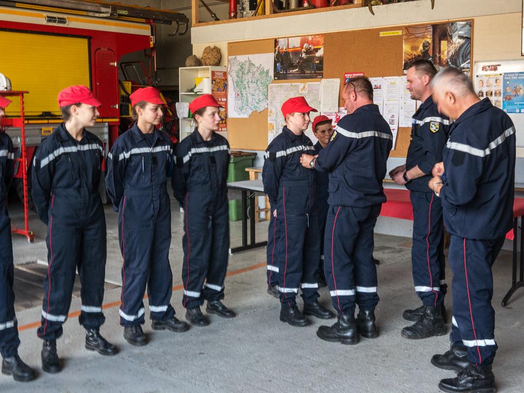 2015-09-26 Accueil des nouveaux jeunes sapeurs pompiers