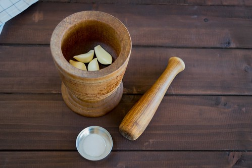 this was Abuelita's mortar and pestle
