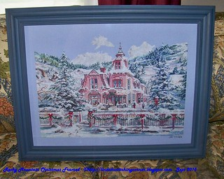 100_9336 - Rocky Mountain Christmas Framed - Sept 2015