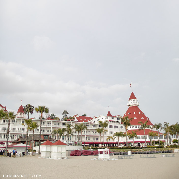 Hotel del Coronado (25 Fun Free Things to Do in San Diego).