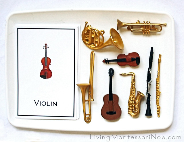 Matching Music Cards with Musical Instrument Models