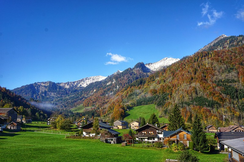 Autumn Walks in the Austrian Alps