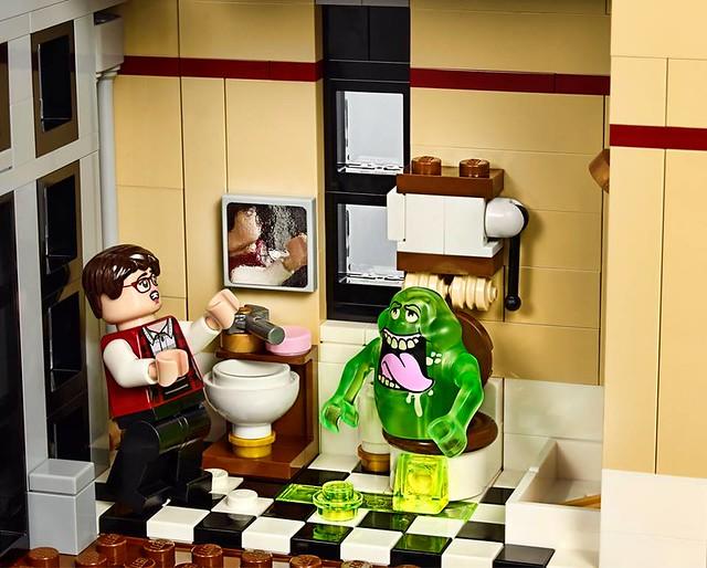 【完整官圖更新】lego 174 75827【魔鬼剋星:總部基地】ghostbusters Firehouse