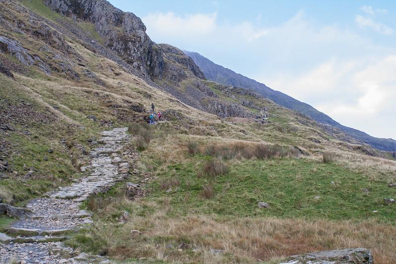 The Pyg Track, Mount Snowdon