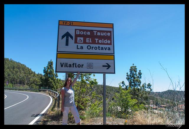 Tenerife Santiago del Teide acantilados los Gigantes Vilaflor - En Vilaflor