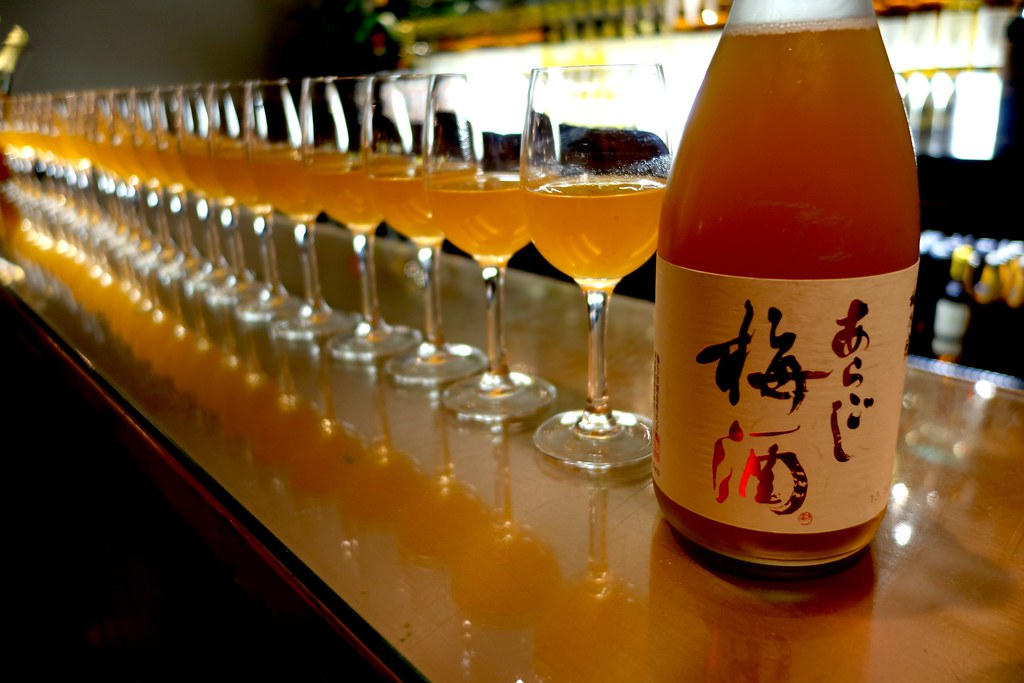 Umeshu, Moti Mahal: Sake and Spice Event