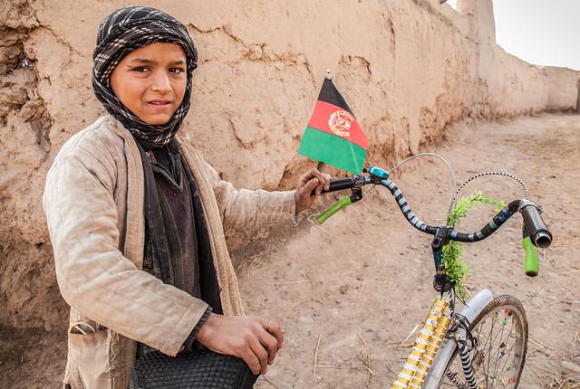 Bike decoration, Afghanistan