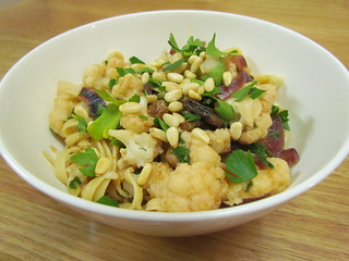 Sicilian Cauliflower Linguine