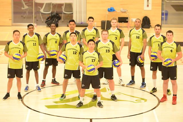 2015 - 2016 Men's Varsity Volleyball Team