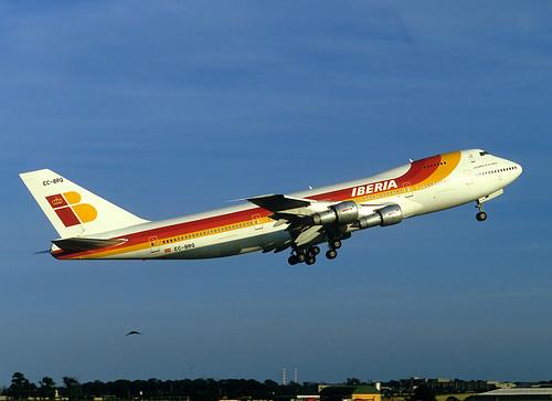 EC-BRQ Boeing 747-256B
