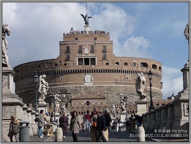 מצודת סנט אנג'לו ב-רומא